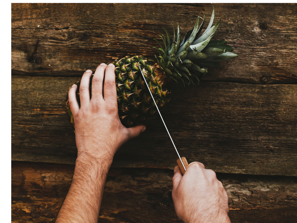 How-To: Cut a Pineapple