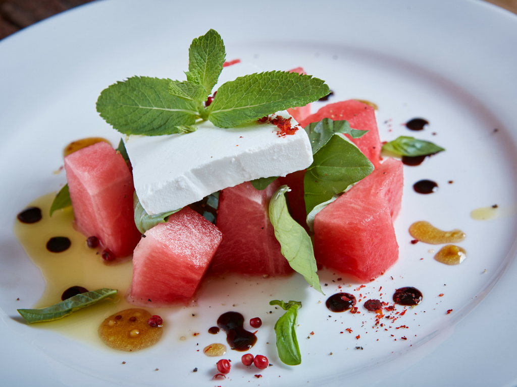 Watermelon Mint & Feta Salad