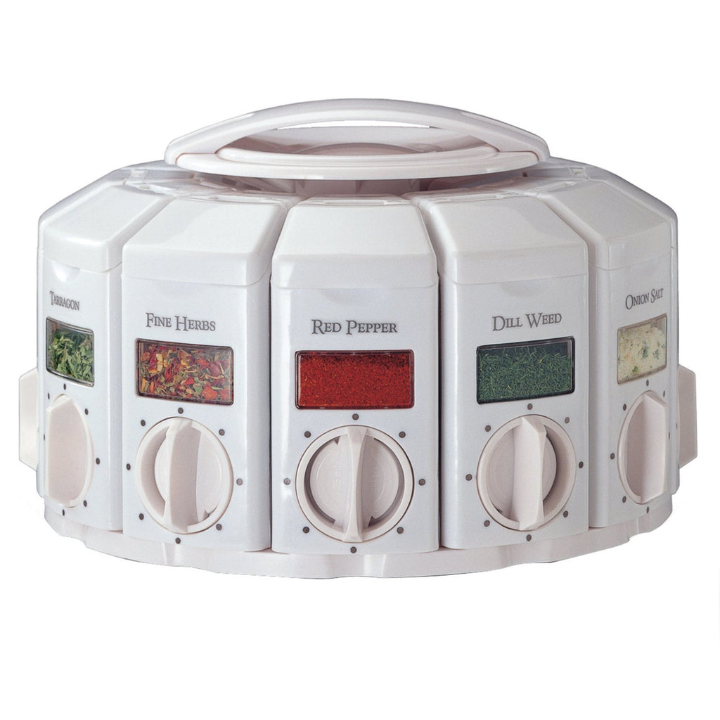 KitchenArt Select-A-Spice Auto-Measure Carousel Professional Series