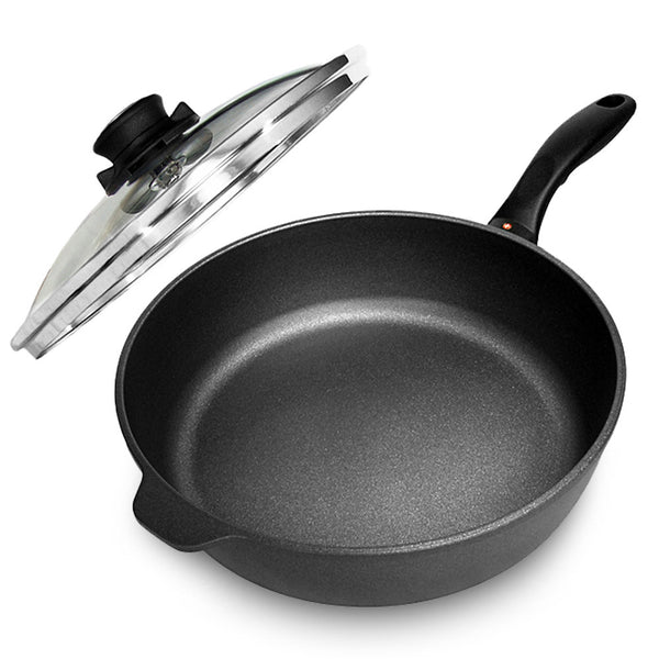 Swiss Diamond Non-Stick Saute Pan with Lid
