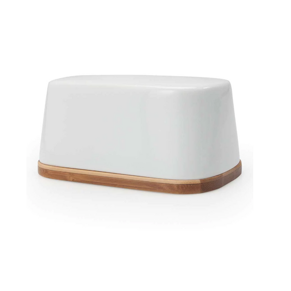 Danesco Butter Dish with Bamboo Base