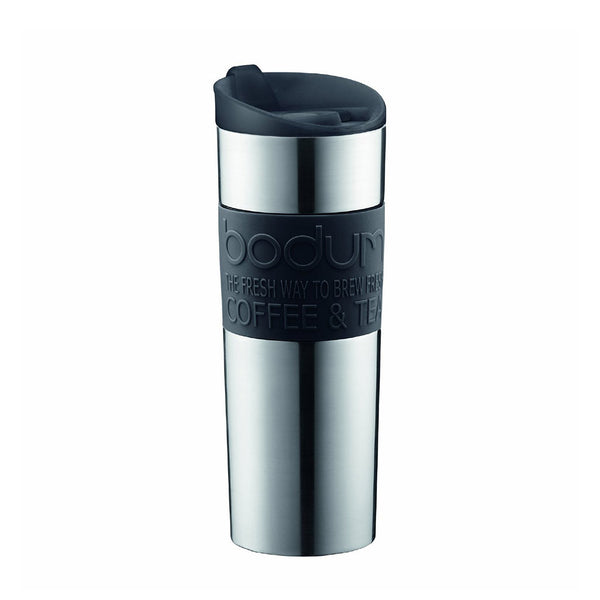 Bodum Insulated Stainless-Steel Vacuum Red Travel Mug