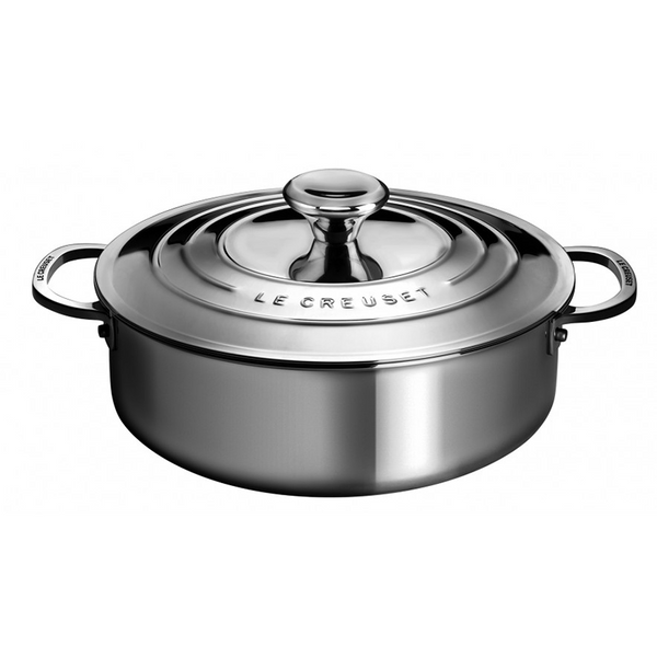 Le Creuset Stainless Steel 4.3 L Rondeau Pan