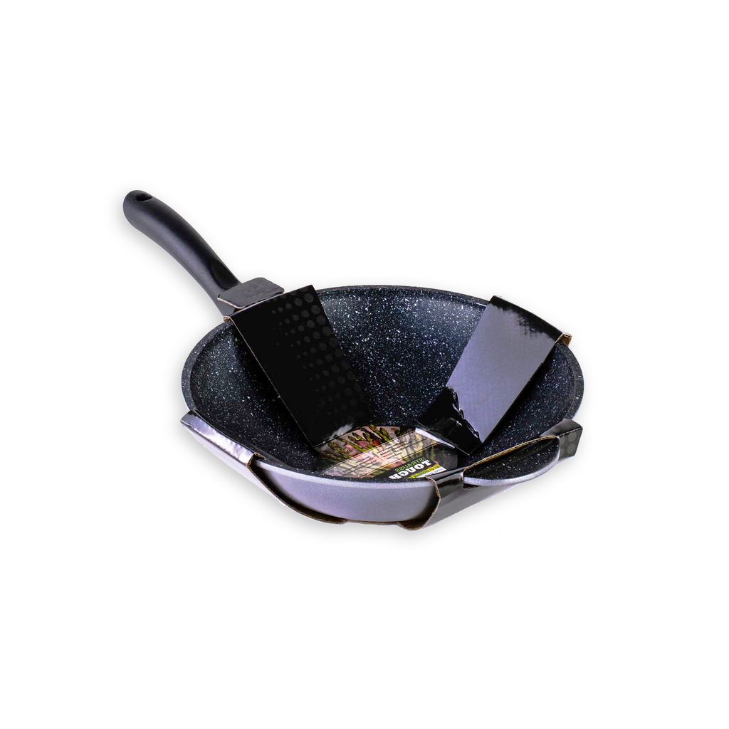 Strauss Tough Pan 32cm Wok