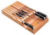 Bamboo In-Drawer Knife Storage