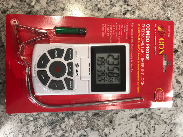 CDN Digital Thermometer with probe