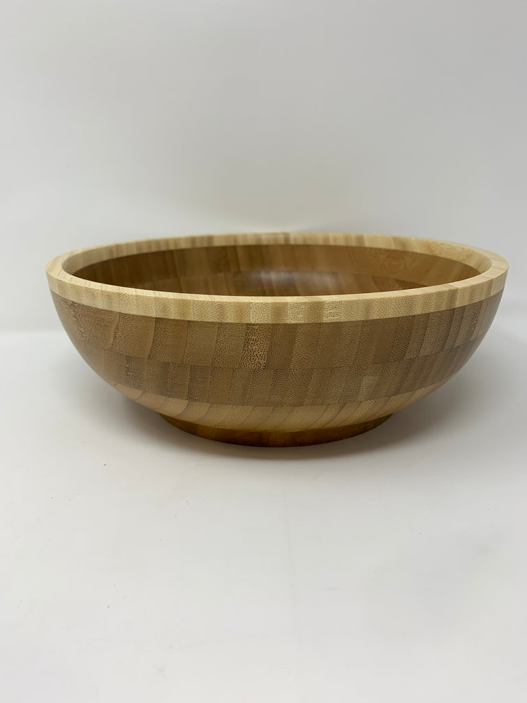 Green Bamboo Small Salad Bowl