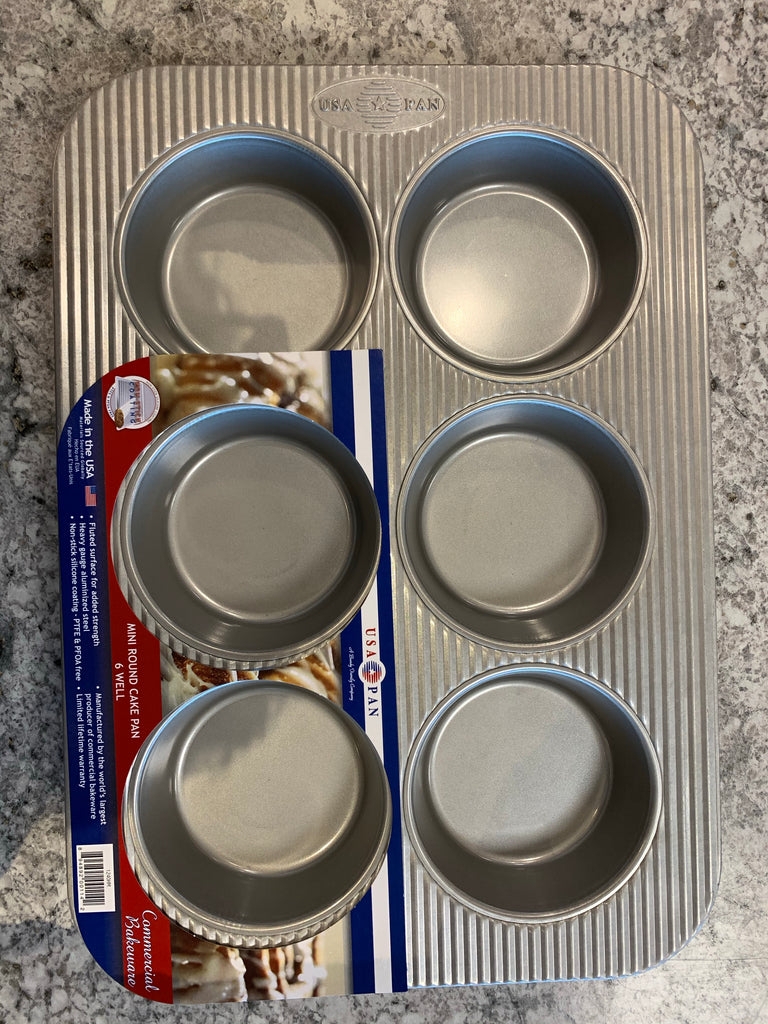 USA Pan Mini Round Cake Pan