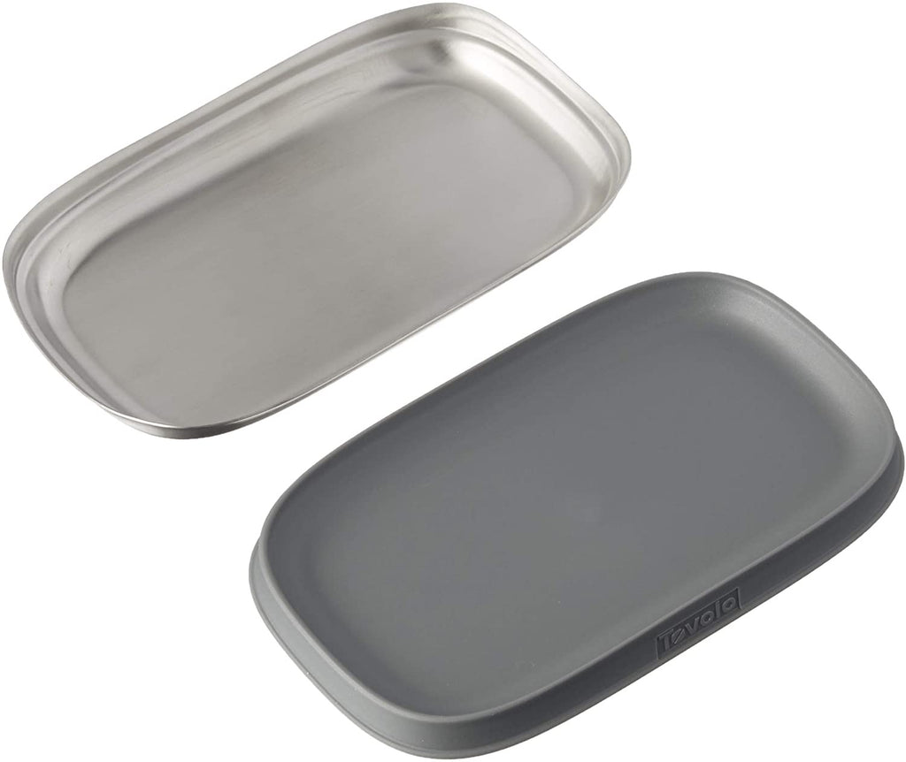 Tovolo double spoon rest stainless steel