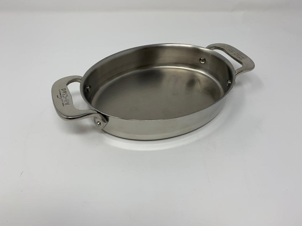 "All clad Set of 2 - 7"" Oval Bakers"