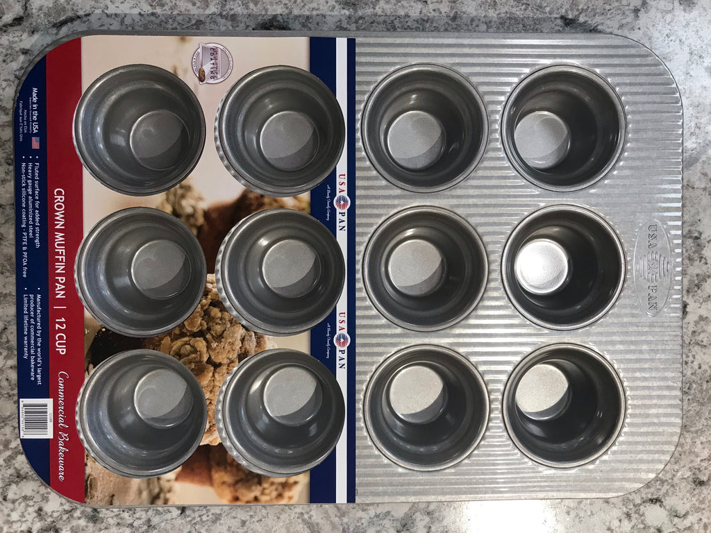 USA pen 12 cup muffin pan