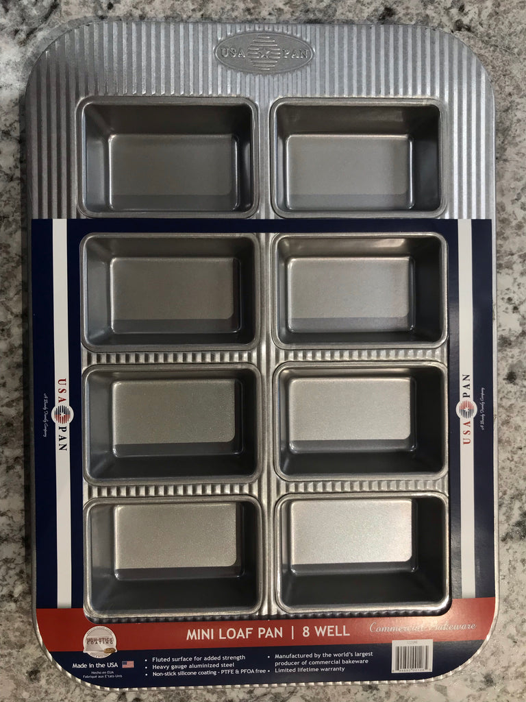 USA mini loaf pan eight linking
