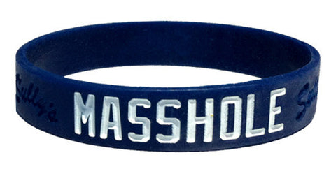 Masshole - Blue & White Bracelet