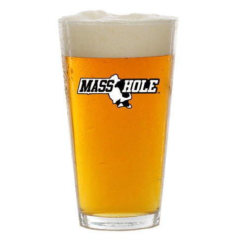 Masshole Commonwealth Pint Glass