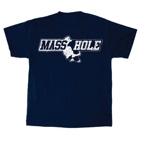 Masshole® - Commonwealth Navy T-Shirt
