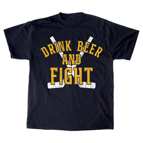 Drink Beer and Fight T-Shirt