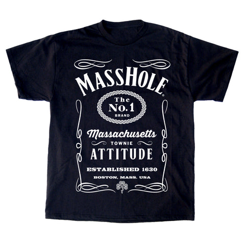 Masshole® - Black & White T-Shirt