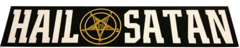 Hail Satan Sticker
