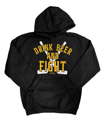 Drink Beer and Fight Sweatshirt
