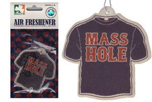 Masshole - Navy Blue & Red Air Freshener