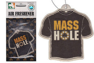 Masshole - Black & Gold Air Freshener