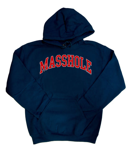 Masshole - Navy Blue Sweatshirt
