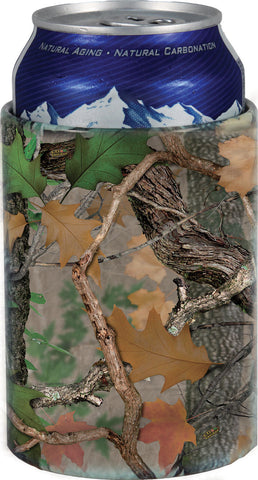 CB Camo Aluminum Can Cooler