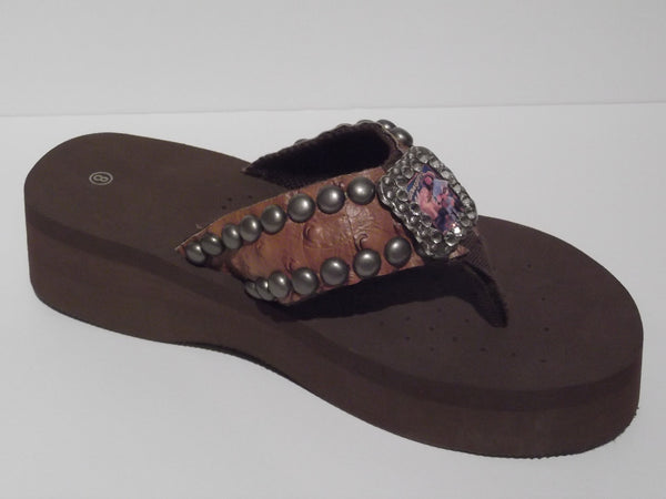 7a242e2fe Custom Cowgirl Flip Flops - The Cowgirl – Dally Down Western Supply