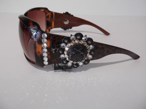 Turquoise and Copper Concho Sunglasses - Dally Down Designs