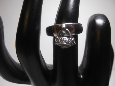 Kelly Herd Sterling Silver Stirrups Ring