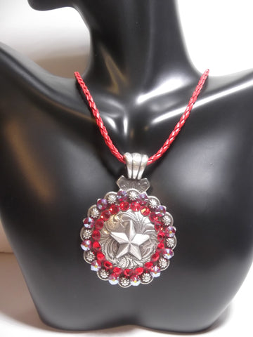 Antique Star Concho Necklace - Dally Down Designs