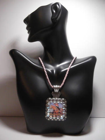 Pin Up Cowgirl Concho Necklace - Dally Down Designs