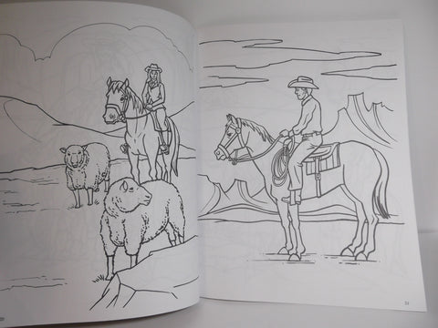 Horse Lover's Coloring Book