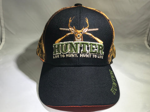Live To Hunt, Hunt To Live Cap