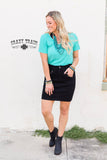 The Law Maker Skirt - Black