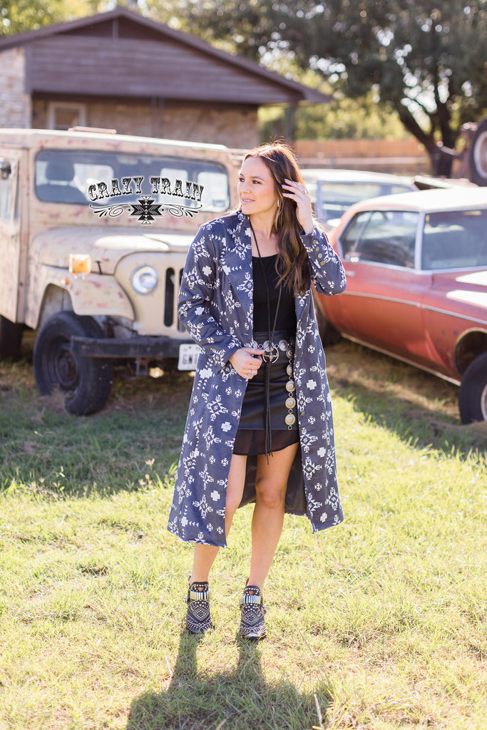 Runaway Train Trench Coat