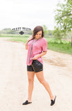 Sassy Side Shorts - Black