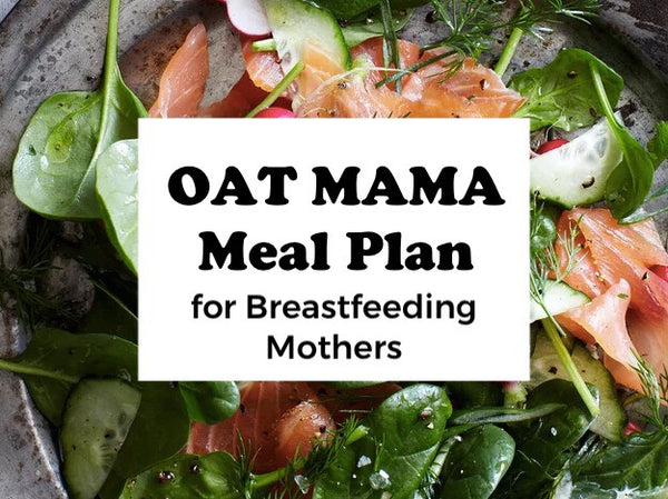 Oat Mama Meal Plan for Breastfeeding Mothers #7