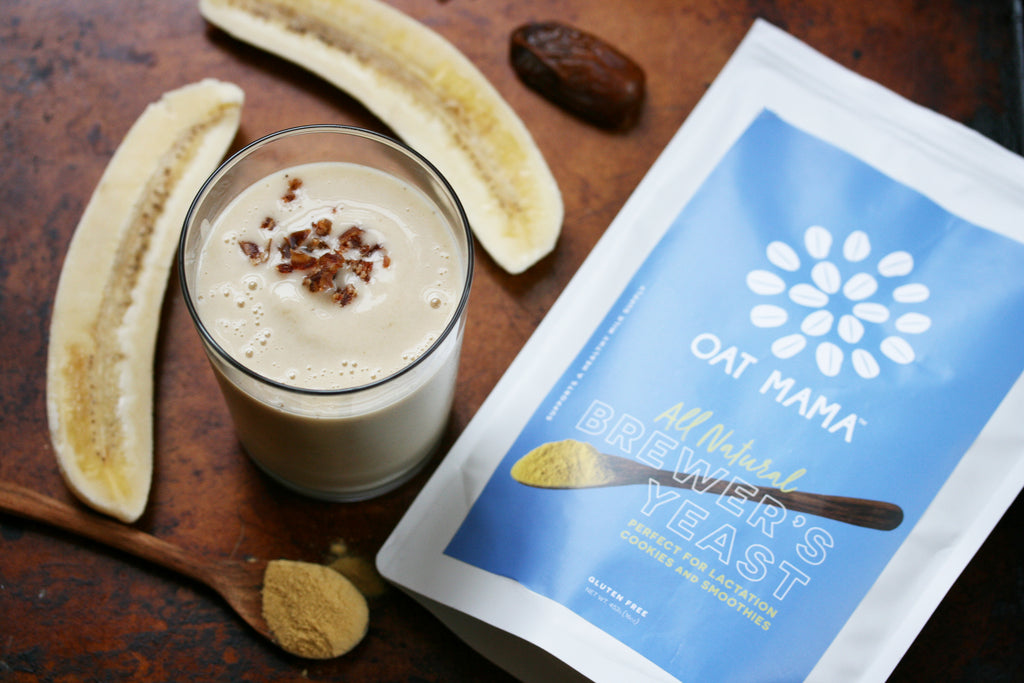 Banana Date Lactation Smoothie