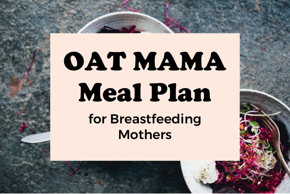 Oat Mama Meal Plan for Breastfeeding Mothers #2