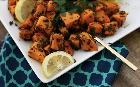 Lactation Recipes: Crispy Cumin Sweet Potatoes