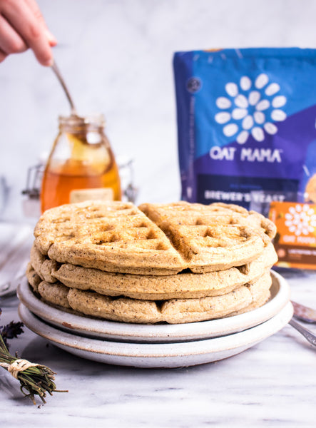 Vanilla Chai Spice Oat Waffles from Sunday Bakers