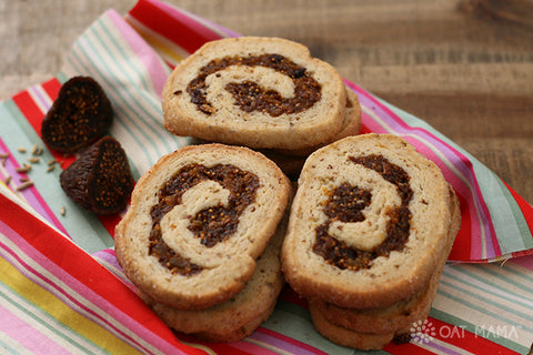 Lactation Recipes: Fennel-Scented Fig and Apricot Cookies