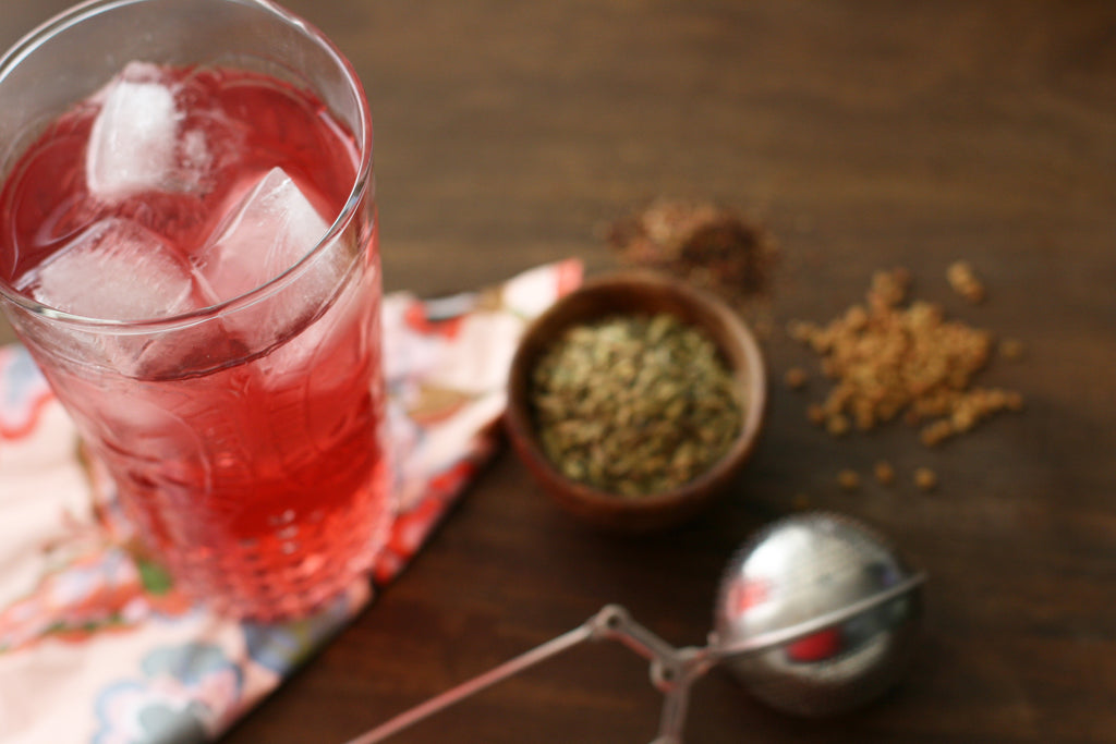 Lactation Recipes: DIY Herbal Iced Tea