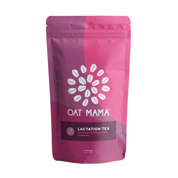 Oat Mama Blueberry Pomegranate Lactation Tea
