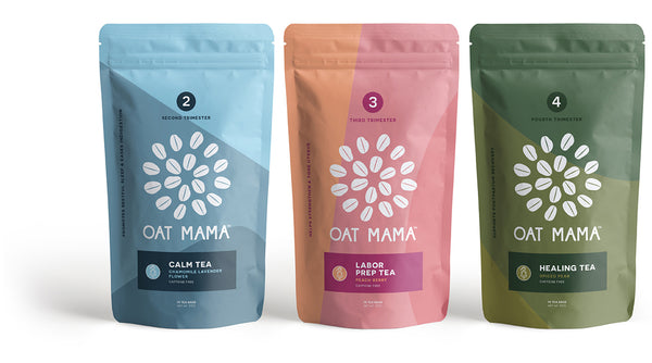 Oat Mama Trimester Tea Trio