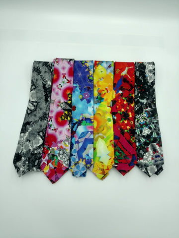 Six Ties in Different Colors <br> 30% Off Regular Price