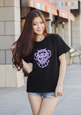 Korean Kpop Band VIXX T-Shirt in Black