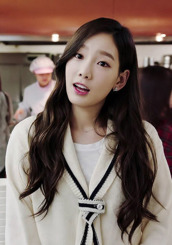Korean TV Drama Producer Girls' Generation SNSD Taeyeon Cameo Cardigan