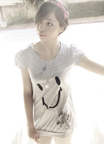 Soul Heart Panda Oversized Pullover Top